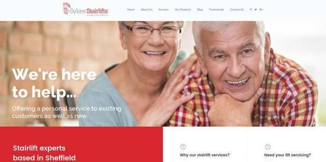 New Website for 2017 - Sykes Stairlifts