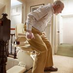 Brooks Original Stairlift Chair - Sykes Stairlifts