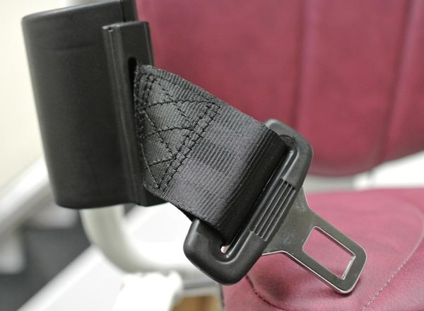 Platinum Curved Seat Belt - Sykes Stairlift