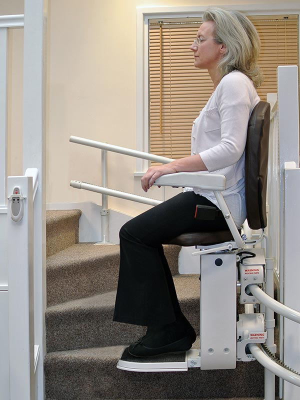 Platinum Curved - Sykes Stairlift